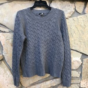 J.Crew Cable Knit Tunic Sweater